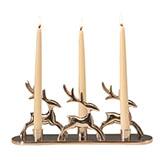 Kerzenständer Rentiere für 3 Kerzen
