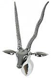 Aluminium Geweih Antilope